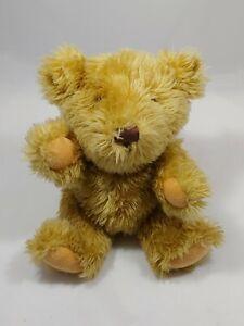 "P.B. Bear Plush Animal By Furrytails Tan Moveable Arms 11""×7"" Teddy Bear Plush"