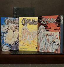 Chobits Clamp Lot of 3 Books Volume 1, 2 & 4 Tokyopop Older Teen Rating Manga
