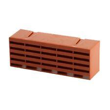 "20 x Terracotta Air Bricks Vent 9"" x 3"" brick Grille AirBrick Flow Ventilation"