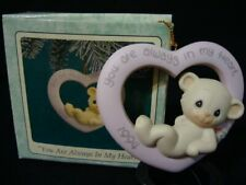 New ListingPrecious Moments-Bear-You Are Always In My Heart-1994 Limited Edition=