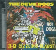 THE DEVIL DOGS - 30 SIZZLING SLABS of RAUNCH GARAGE ROCK and ROLL SEALD CRYPT CD