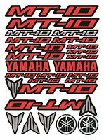 FZ Rot MT-10 Helm Motorrad Fahrrad Aufkleber Grafik Stickers MT10 /159