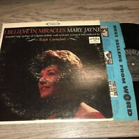 MARY JAYNE - I BELIEVE in MIRACLES - VINTAGE VINYL LP