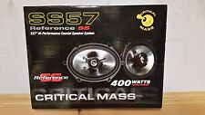CRITICAL MASS AUDIO SS57 SPEAKERS FOCAL JL 6X8 COMPONENTS UTOPIA 5X7 BEST CAR NR