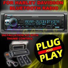 FOR 98-2013 HARLEY DAVIDSON TOURING PLUG & PLAY BLUETOOTH MP3 AUX RADIO STEREO