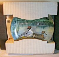 Knowles Collector Plate Ducks The Pintail by Bart Jerner w/box & COA 18025 I