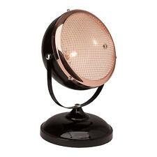 Tisch Lampe Leuchte Retro Vintage Industriedesign Route 66 schwarz kupfer B-Ware