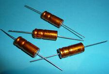 4x org. Roederstein ROE EB 1000 uF µF 16V Golden Bullet Vintage Audio Grade NOS