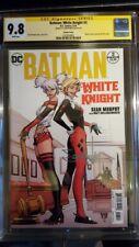 BATMAN WHITE KNIGHT #3 CGC 9.8 Sean Murphy sig 1st neo JOKER