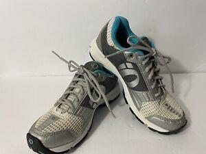 Pearl Izumi X-Road Fuel Cycling Shoes Teal Grey - Womens Size US 9, EU 41 READ