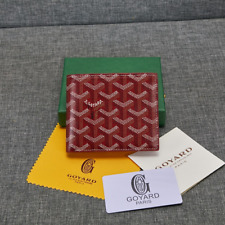 Maison Goyard wallet Red two-fold wallet
