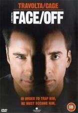 FACE OFF John Woo*Nicolas Cage*John Travolta Violent Crime Action DVD *EXC*