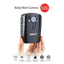Wearable Mini 32GB 2inch full HD LCD Screen Body Worn Pocket Video Police Camera