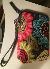 Vera Bradley Tablet Sleeve Pouch Retired Pattern Clean
