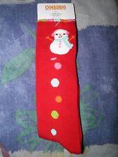 "GYMBOREE ""Cozy Cutie"" Snowman Knee Socks 5-7yrs~ NEW!"