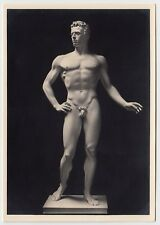 Arno Breker DER WAGER / THE COURAGEOUS Male Nude * Vintage 30s Photo PC Gay Int