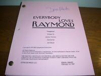 "RARE ""EVERYBODY LOVES RAYMOND"" DORIS ROBERTS HAND-SIGNED AUTOGRAPHED SCRIPT-1997"