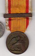 Original pre WWI German Medal Baden Campaign 1870 France Battle Bar on Ribbon