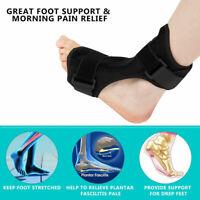 Night Splint Foot Brace Strap Plantar Fasciitis Drop Sprain Support Pain Relief