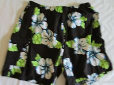 Kanu Surf Men's 4X Large Floral Swim Trunks Shorts