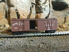 N Scale Micro trains 40' double opening door boxcar NORTHERN PACIFIC NIB