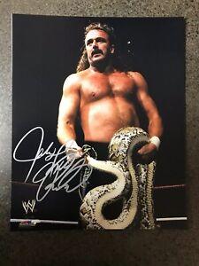 Jake The Snake WWF Signed Autographed Photo