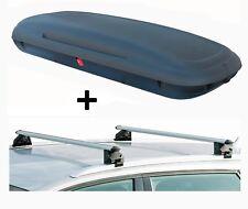 vdpca480 Caja de techo 480l Aspecto Carbono + barras vdpcrv107a Chevrolet Trax