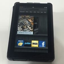 "Amazon Kindle Fire 1st Gen D01400 8GB 7"" Includes MARWARE Hard Case."