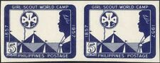 Filippine 1957 Scout Girl Guides// CAMP/Baden-Powell gliel 'HUNGARIAN PR (n31736)