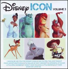 DISNEY ICON Volume 3 CD ~ LION KING~JUNGLE BOOK~MARY POPPINS SOUNDTRACK CD *NEW*