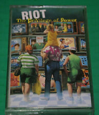Riot - The Privilege Of Power Rare Cassette Tape 1990 Out Of Print Vg++