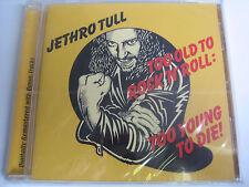JETHRO TULL - TOO OLD TO ROCK´N´R + BONUS TRACKS - CD - NEU + ORIGINAL VERPACKT!