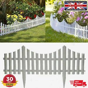 Garden Fencing Fence Panels Lawn Border Edge Landscape Tree Flower Barrier