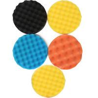 3/4/5/6/7 inch Waffle Buff Polishing Pad kit For Car Polisher -Select Set & Size
