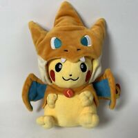 Pokemon Pikachu W/ Charizard Costume Plush Soft Toy Stuffed Animal Doll