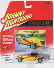 JOHNNY LIGHTNING CLASSIC GOLD 1999 CHRYSLER PROWLER Rubber Tires