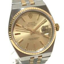 ROLEX Datejust Combi Oyster Quartz Wristwatch 17013