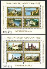 Romania 1982 Castles/Buildings/Architecture/Culture 2 x m/s (n32532)