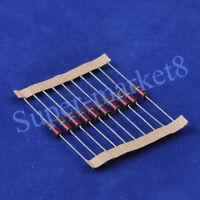 10pcs Carbon Composition vintage Resistor 0.5W 68K 0.33ohm -20/%