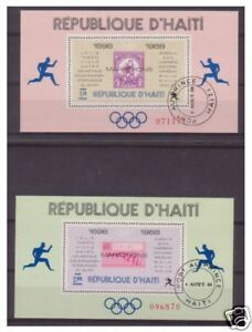 Haiti - 1968 Olympic Games (Perf) sheets x 2 - F/U - SG MS1152