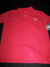 Colosseum Athletics Men's Illinois State Redbirds Polo Shirt NWT XL