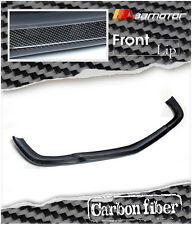 Carbon Fibre CS Style Front Bumper Lip Spoiler for Mercedes W211 Saloon E63 AMG