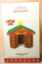 Hallmark: Lincoln Logs - Hasbro - 2017 Keepsake Ornament