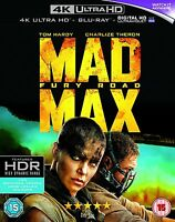 Mad Max: Fury Road (4K Ultra HD Blu-ray) Brand New 5051892199797