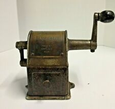 Antique 1914 Stewart Pencil Sharpener Metal Patent Applied For Rare Antique