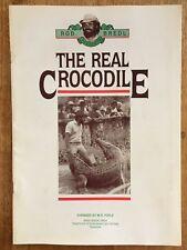 Rob Bredl Presents THE REAL CROCODILE Book