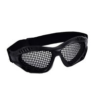 Outdoor Paintball Goggle Hunting Airsoft Metal Mesh Glasses Eye Protection~Bl`US