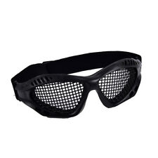 Outdoor Paintball Goggle Hunting Airsoft Metal Mesh Glasses Eye Protection~Bl_WK