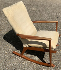 Vintage Parker Knoll 973 Rocking Chair Mid Century Project
