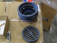 """Zurn Z556-4Nh-P Hd Floor 9"""" diameter 4"""" Tp Connection"""